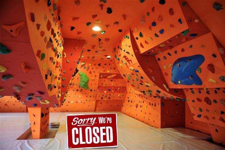 Boulder terem zárva!