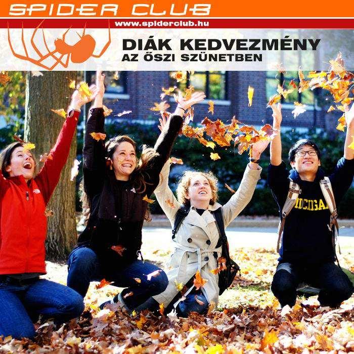 Kedvezményes belépés diákoknak az őszi szünetben hosszabb nyitvatartás mellett