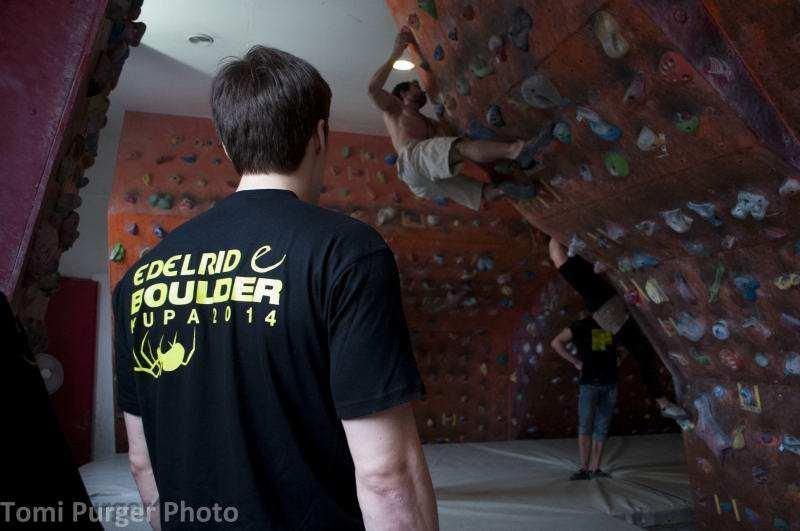 Edelrid Boulder Kupa 2014 I. forduló eredményei