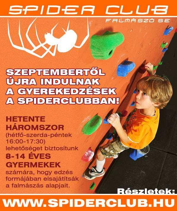 Gyerekedzések a Spider Clubban!