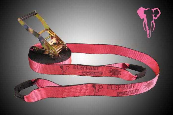 Elephant Slackline 15m rookie flash'line