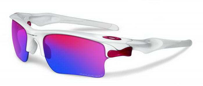 Oakley Fast Jacket - Polished White