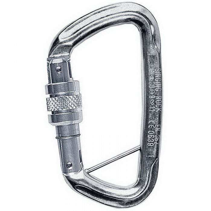 Singing Rock D csavaros karabiner K4280PP