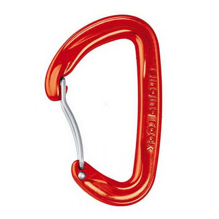 Singing Rock Vision bent karabiner