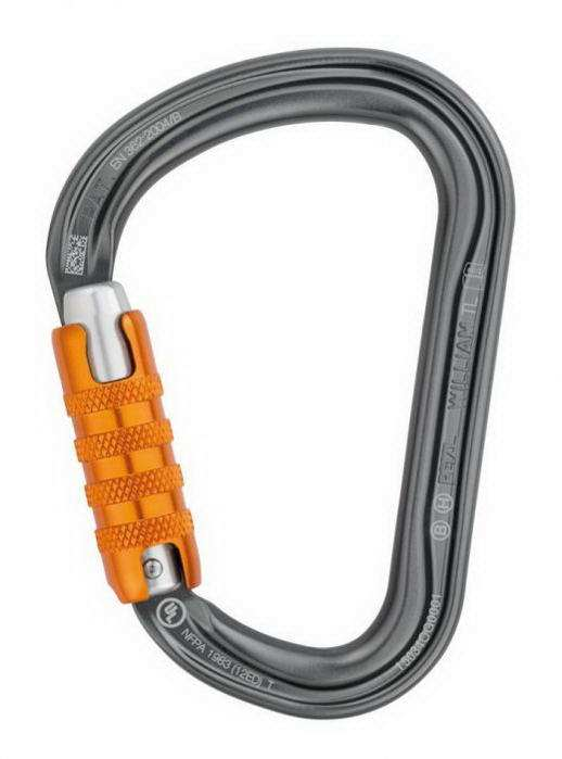 Petzl William 2016 Ball Lock / Triact Lock karabiner