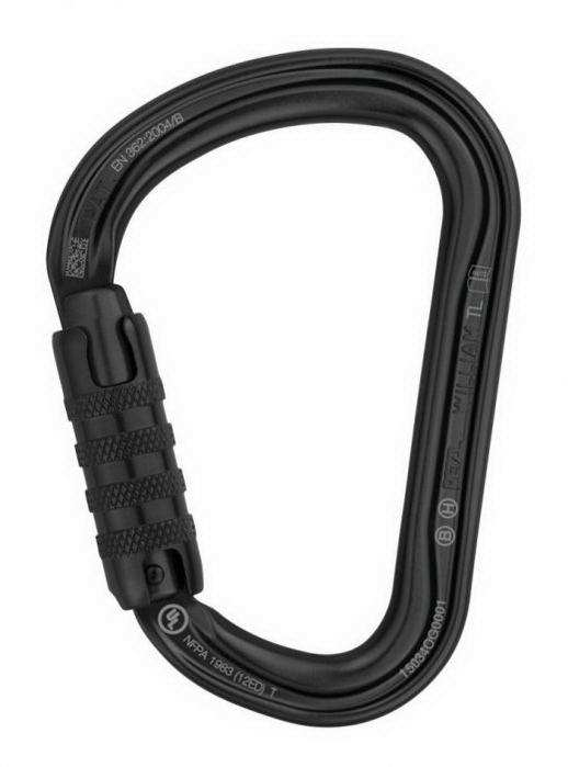 Petz William 2016 fekete Triact Lock karabiner