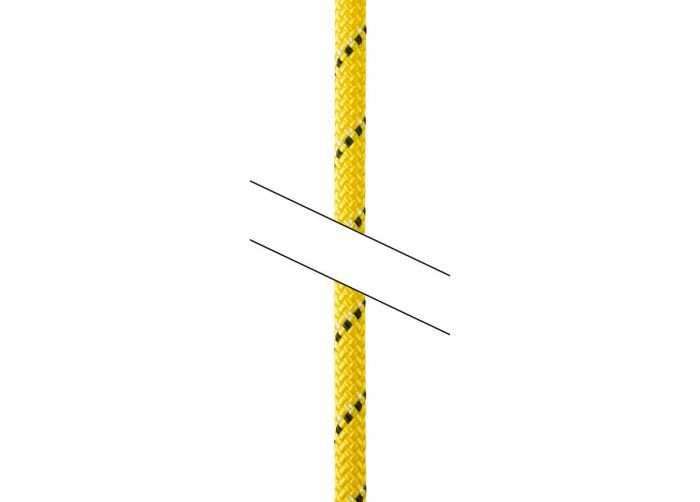 Petzl PARALLEL 10.5 mm félstatikus kötél
