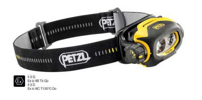 Petzl PIXA® 3R fejlámpa