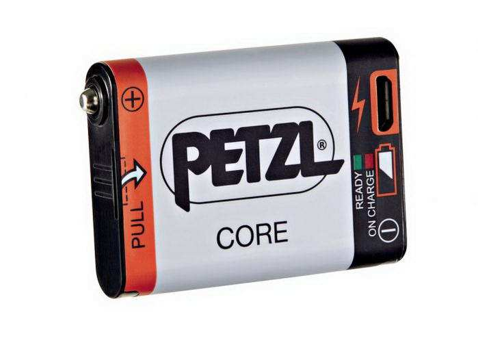 Petzl CORE akkumulátor fejlámpához