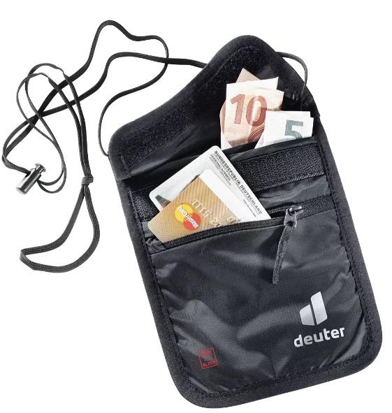 Deuter Security Wallet II RFID BLOCK irattartó és pénztárca