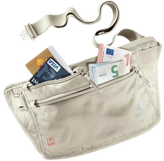 Deuter Security Money Belt II RFID BLOCK irattartó és pénztárca