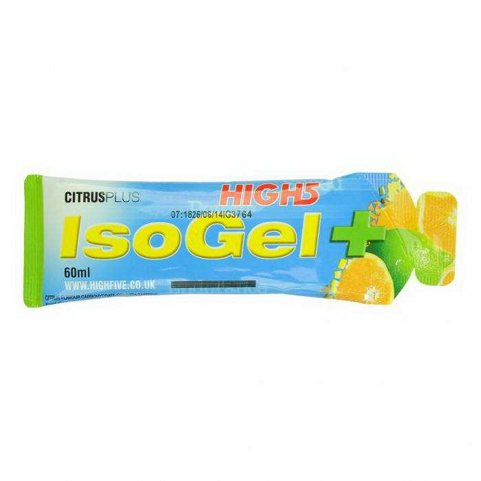 High5 IsoGel Plus citrus 60g (koffeines)
